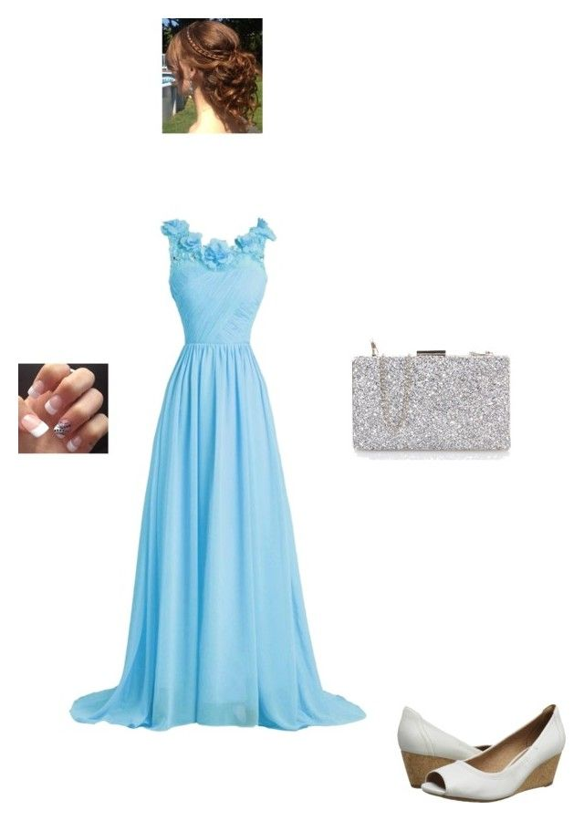 """a night to remember"" by modest-flute ❤ liked on Polyvore featuring Clarks"