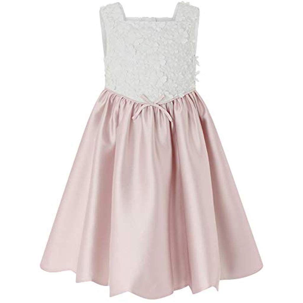 Monsoon Kids Mädchen Belle Kleid Partykleidung Abendkleider