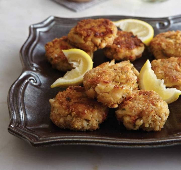 Crab cakes with special seafood sauce recipe recipes