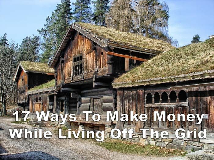 17 Ways To Make Money While Living Off Grid Off Grid Homestead, Homestead  Living,