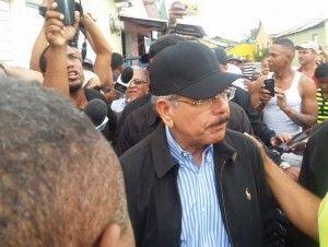 Presidente Medina visita Puerto Plata por daños de lluvias