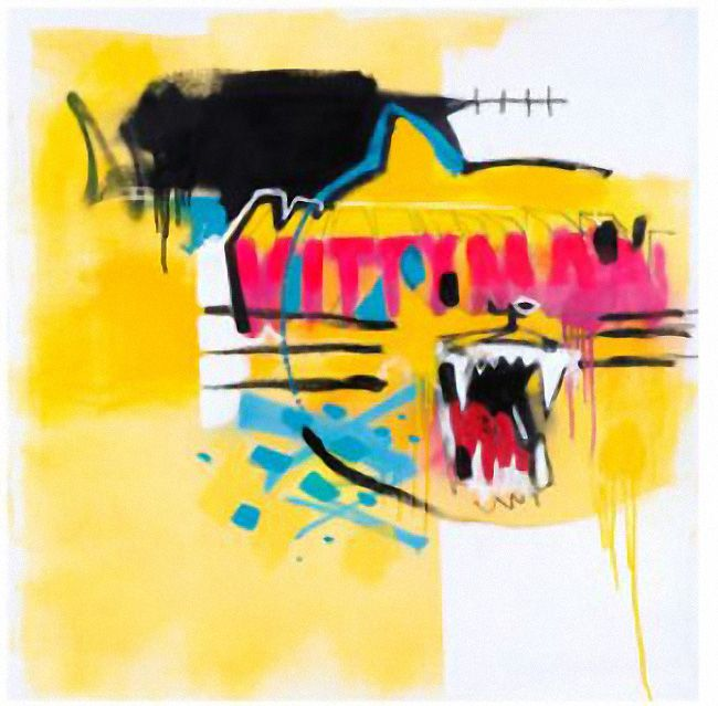 Kittyman, Anthony Lister, screenprint on BFK Rives 100% cotton paper, 20 x 20 inches, edition of 50, $200 USD + shipping.