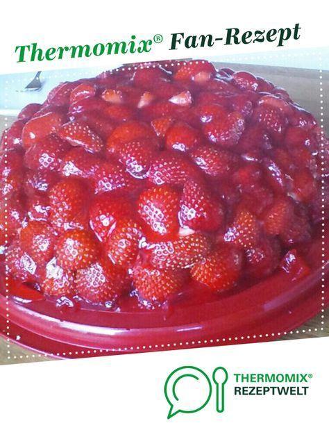 Photo of Strawberry cake with vanilla cream