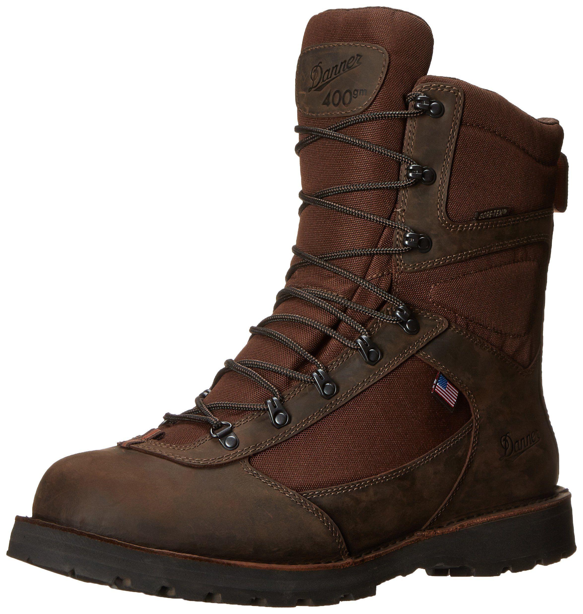 Danner Men's East Ridge 8-Inch BR 400G Hiking Boot Brown 12 EE US