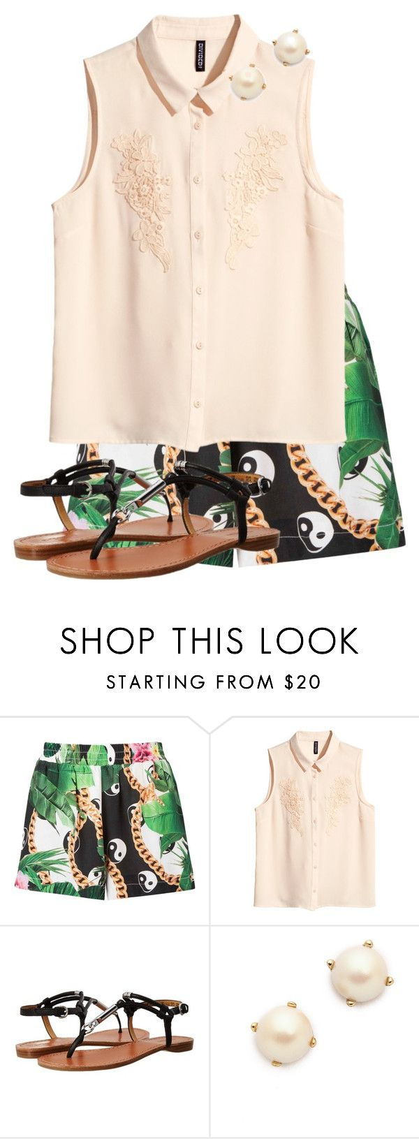 """Paying With Love"" by glittergirlawk ❤ liked on Polyvore featuring H&M, Coach and Kate Spade"