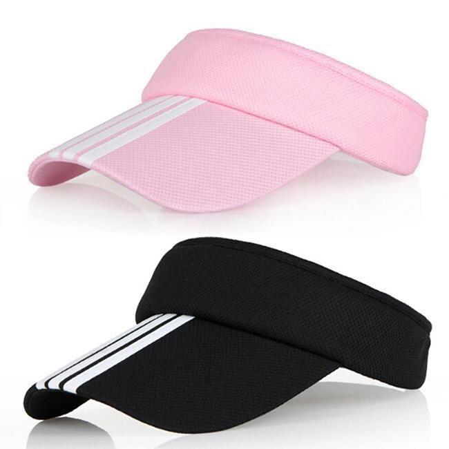 e6de4917957 2.77AUD - Sports Tennis Golf Sun Visor Hat Hats Adjustable Plain Bright  Color Men Women Ja  ebay  Fashion