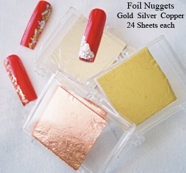 Foil Nuggetts For That Crushed Metallic Effect We All Love So Much