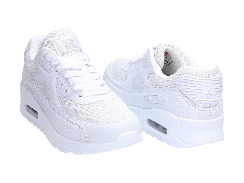 Biale Buty Damskie Sportowe Rapter B726 Sportowe Buty Damskie Sklep Internetowy Z Obuwiem Suzana Buty Meski Air Max Sneakers Nike Air Max Baby Fashion