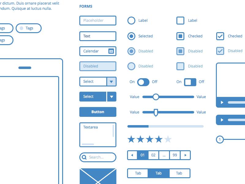 UI Frames - Free sketch resource for download #sketchhint #sketch ...