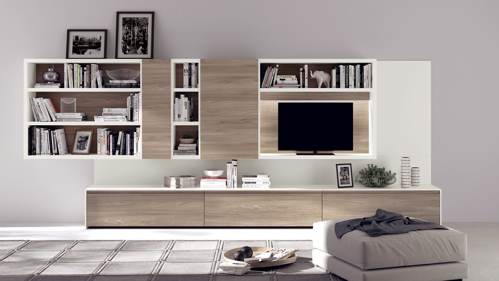 scavolini Living Motus | Квартира | Pinterest | Tv furniture, Room ...