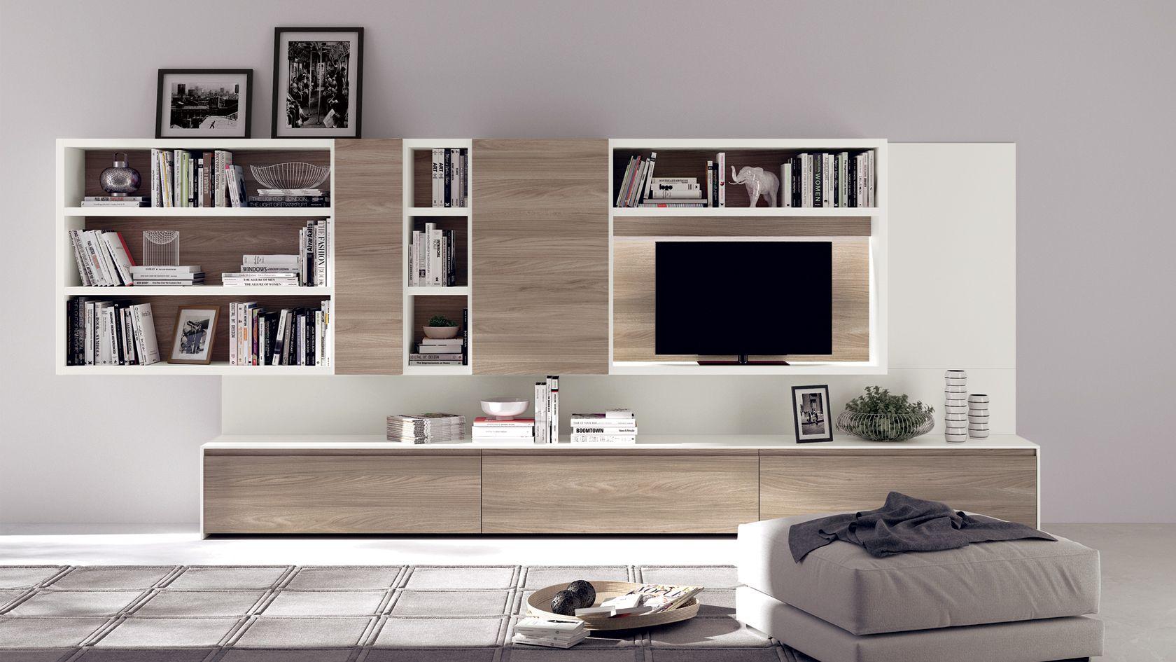 scavolini Living Motus | Квартира | Pinterest | Soggiorno, Parete ...