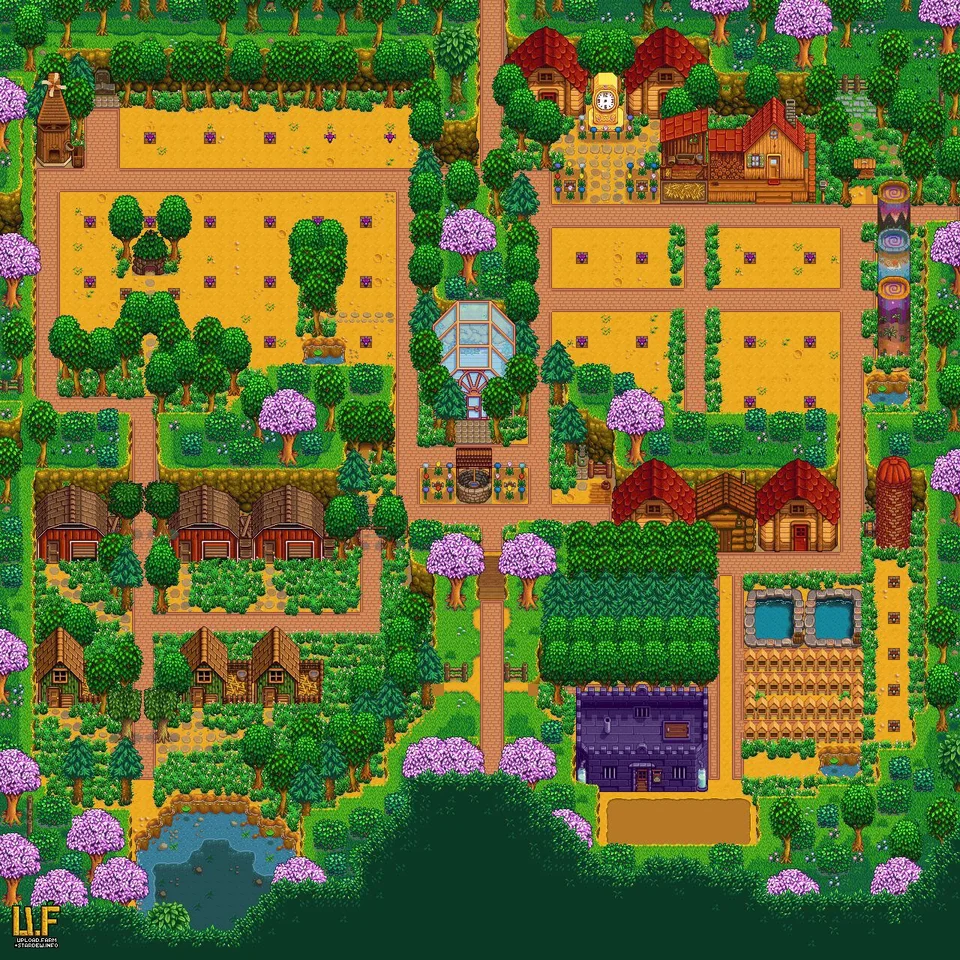 Pin By Alison Gaudet On M E Xd Stardew Valley Stardew Valley Farms Stardew Valley Layout