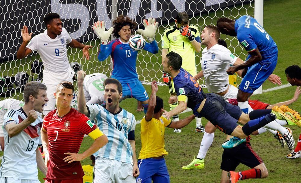 Die erste WM-Woche auf einem einzigen Bild!  #WorldCup2014 #WM2014 #Brasil2014 #srfbrasil pic.twitter.com/PDRkazgfva