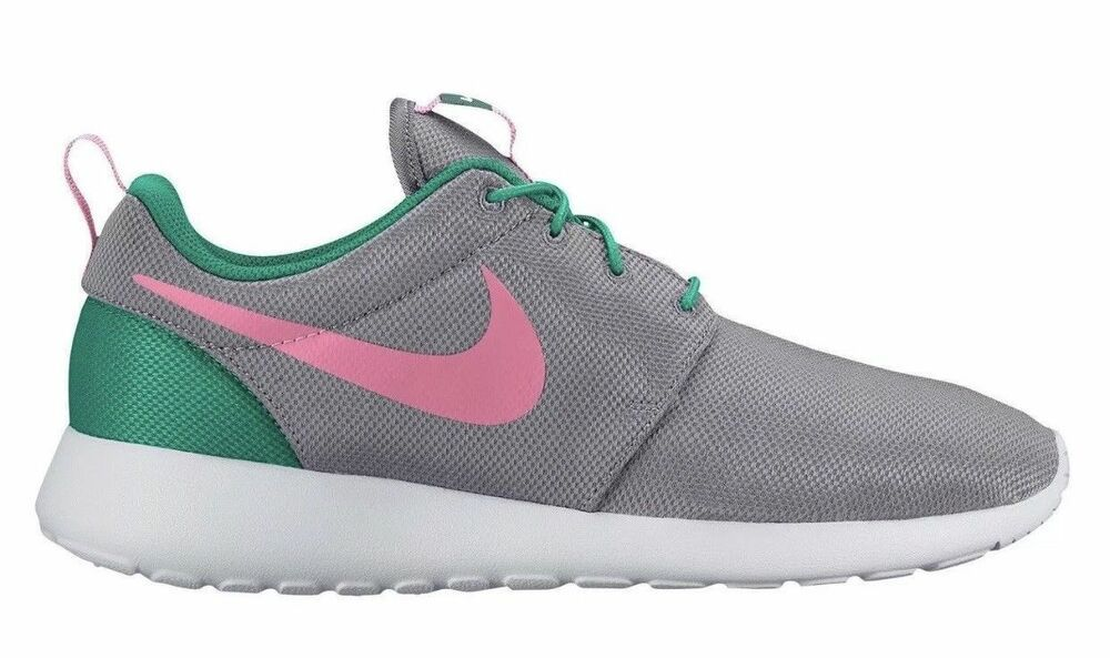 f8ace6a8d868 Nike Roshe Run One South Beach Mens Shoes Wolf Grey Sunset Pulse Watermelon   Nike  RunningShoes