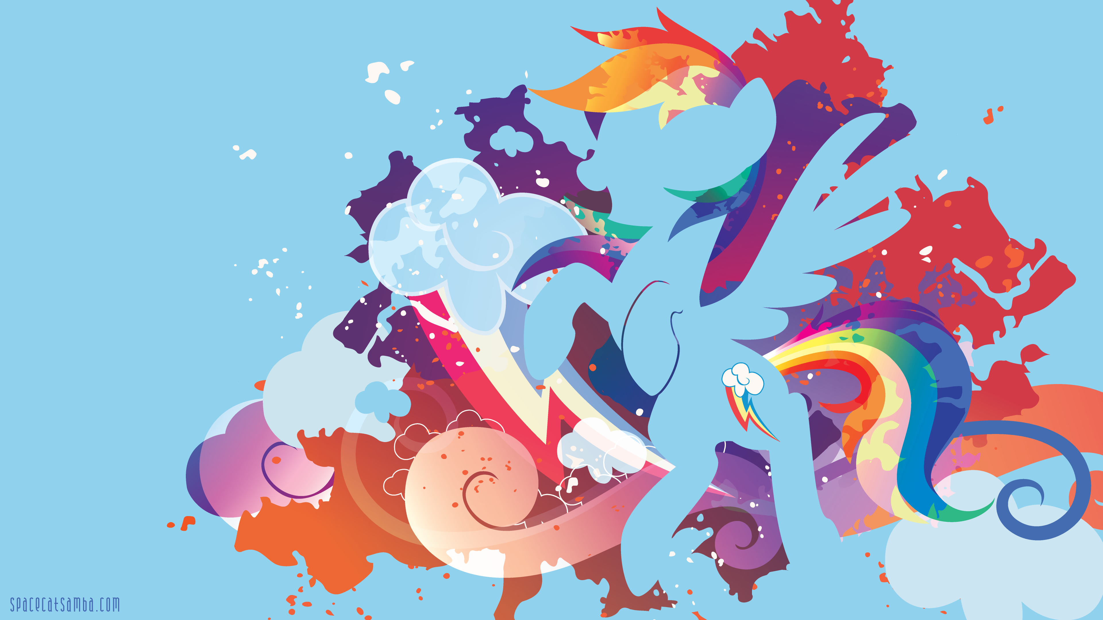 Rainbow Dash With Images Rainbow Dash Rainbow Wallpaper