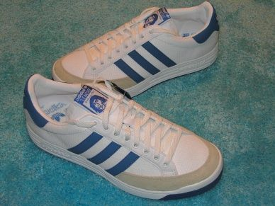 """adidas Nastase tennis shoes """"great from every angle""""   OLD"""
