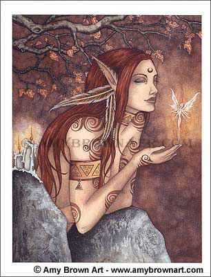 Amy Brown-Autumn magic