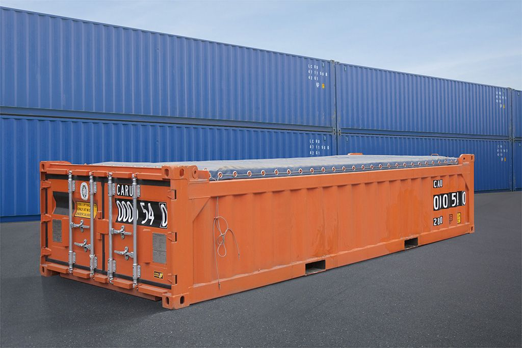 Pin Op Shipping Containers