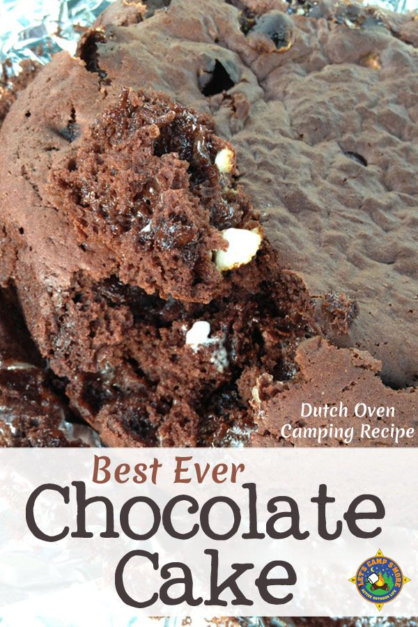 Best Ever Chocolate Cake Recipe - Need a great camping ...