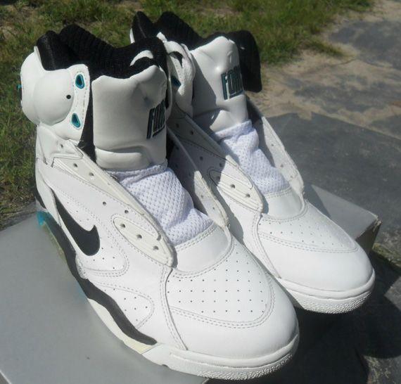 Nike Air Force 180 High Pump OG Blue Emerald on eBay