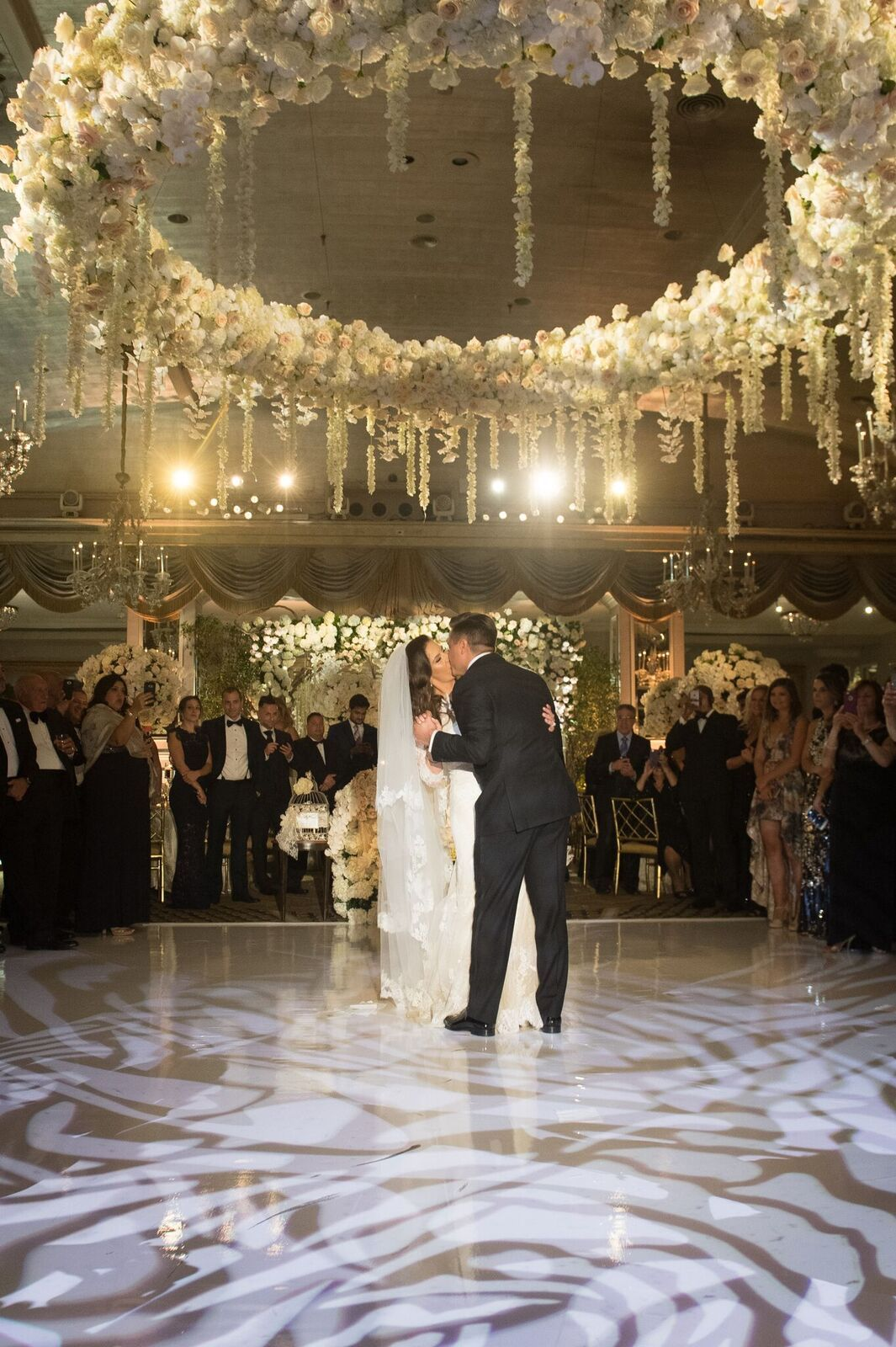Glamorous Ballroom New York Wedding at the Pierre Hotel #weddingreception