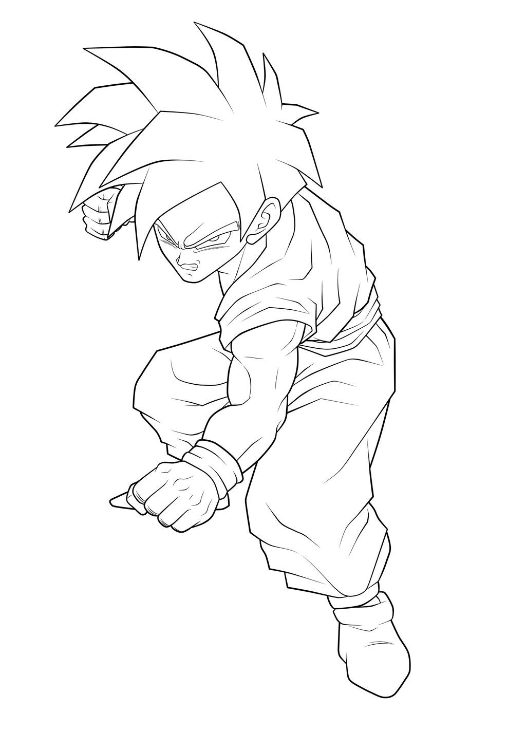 the dragon ball coloring pages called son gohan to coloring there we have the young gohan gokus son during his life gohan has changed a lot of dress