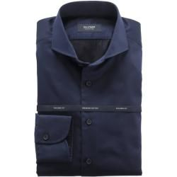 Photo of Olymp signature shirt, tailored fit, extra long arm, midnight blue, 45 olympic