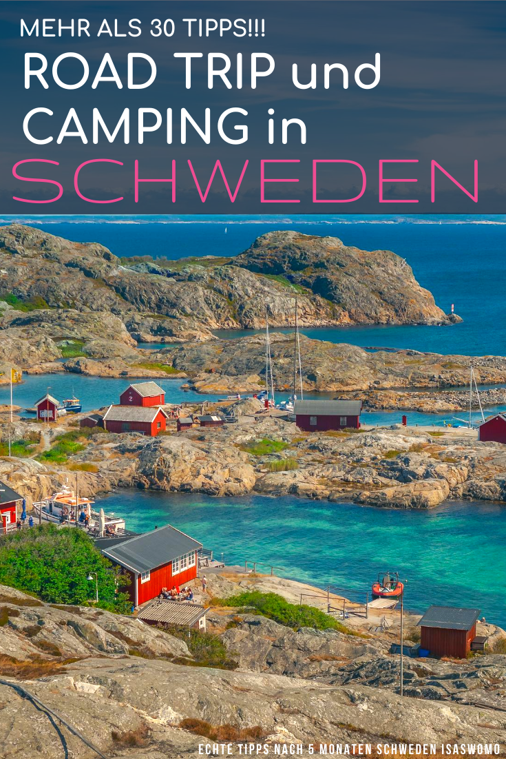 Photo of Camping in Sweden – more than 30 tips for your road trip