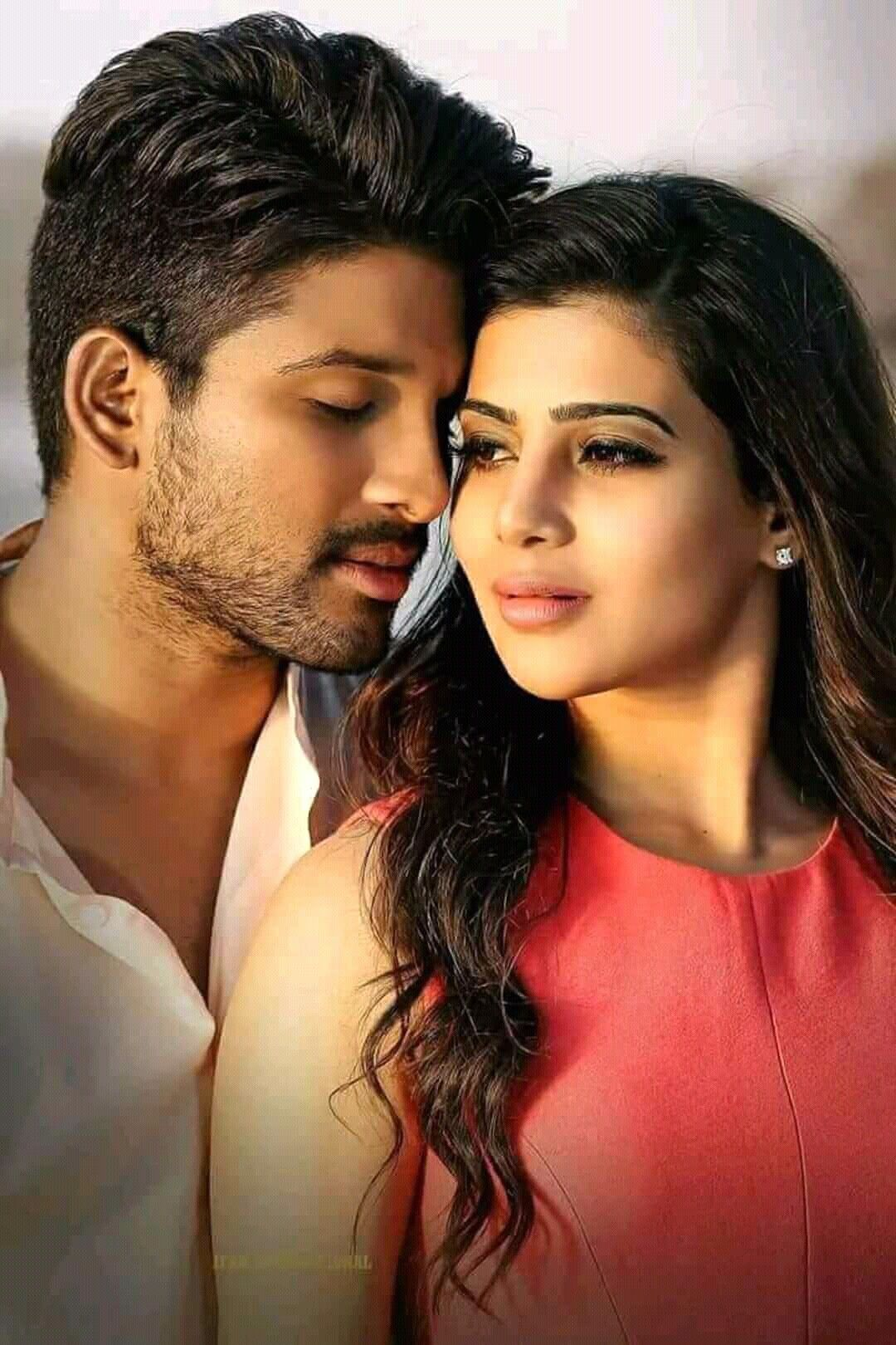 Most Romantic Pair Heart Lovers Allu Arjun Images Actors Romantic