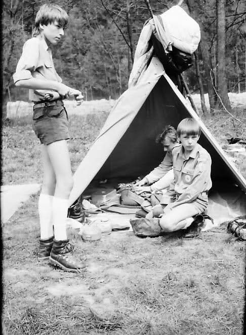 The first gay experience in the pioneer camp