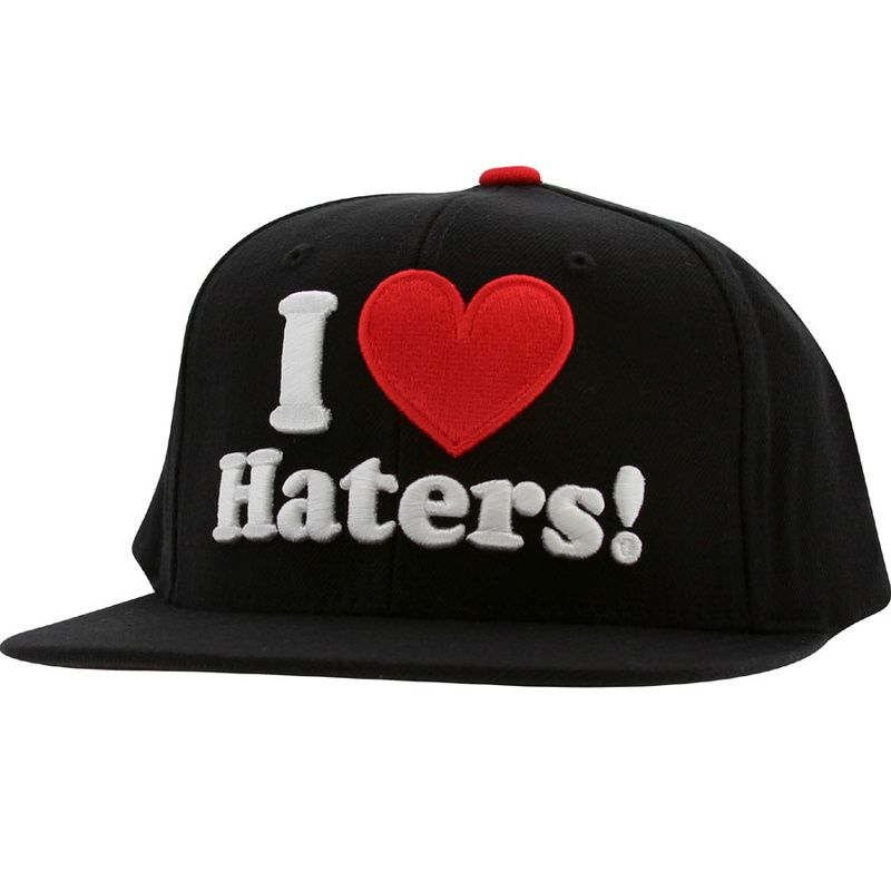 7a567ed8d10 DGK Haters Snapback Hats Caps Black 0241! Only  8.90USD