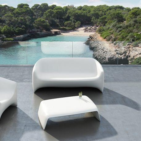 Canape BLOW Sofa Polyethylene Mat par Vondom ⌂ Salon de Jardin
