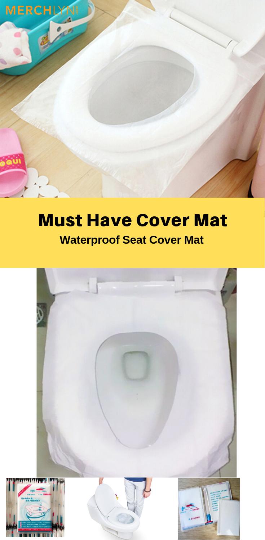 Excellent 10Pcs Bag Waterproof Toilet Seat Cover Mat In 2019 Custom Spiritservingveterans Wood Chair Design Ideas Spiritservingveteransorg