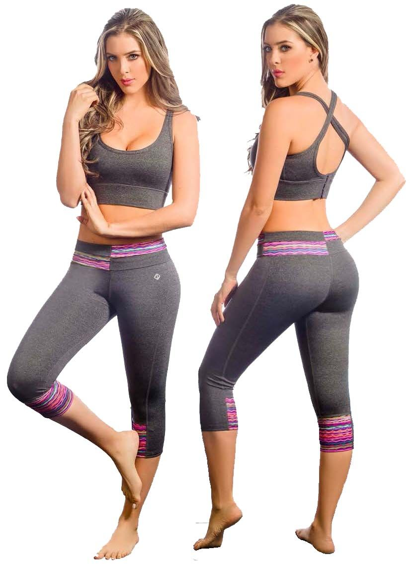 b2e1eb2b239 Protokolo 2674 Women Exercise Clothing Gym Activewear Workout Outfits