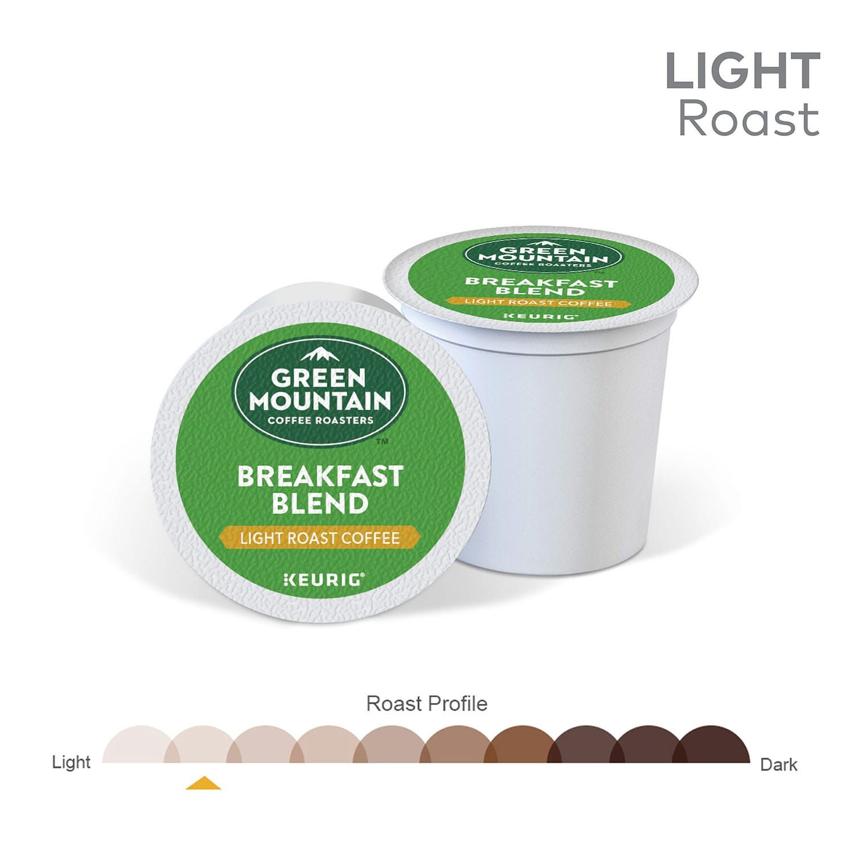 Green Mountain Breakfast Blend Coffee, Keurig? KCup? Pods