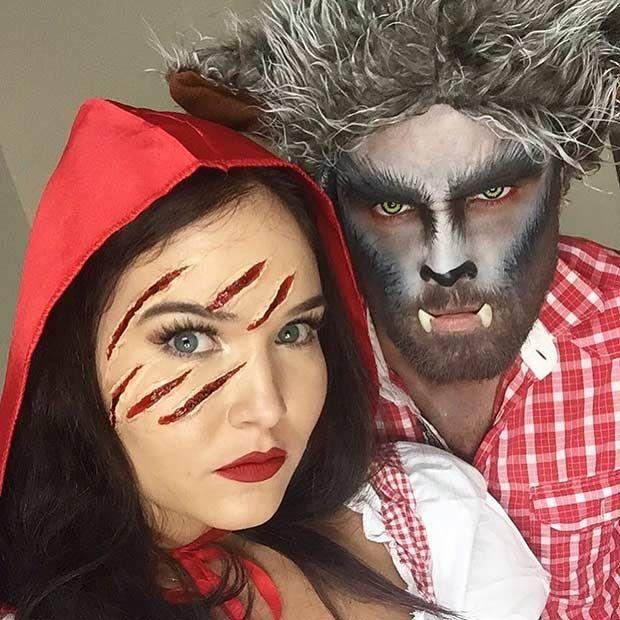 31 creative couples costumes for halloween d guisements id es de d guisement et maquillage de - Maquillage halloween couple ...