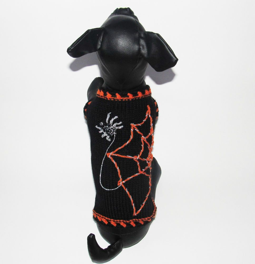Halloween dog clothes puppy Jumper sweater outfits