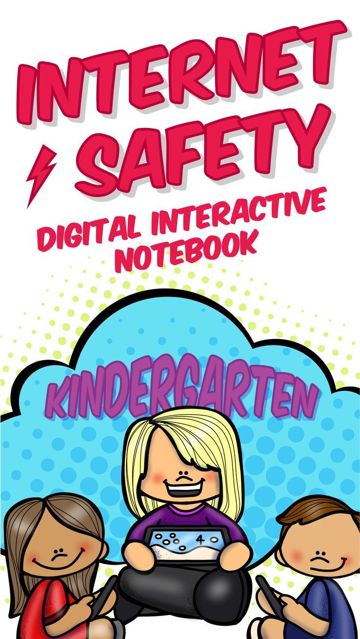 Kindergarten Safety Digital Interactive Notebook