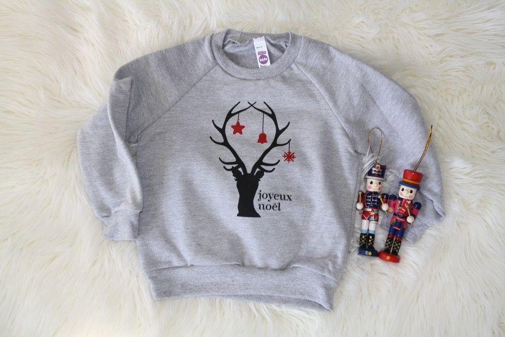 Go To Bed Kids Clothing Christmas Sweatshirt