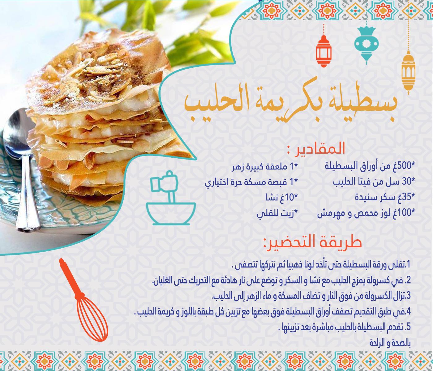 Livret De Recettes Ramadan 2019 Vitahalib Food Water Bottle Drinks
