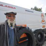 Lassa kullanıcısı traktör sahiplerinin �'ı lastiğinden memnun