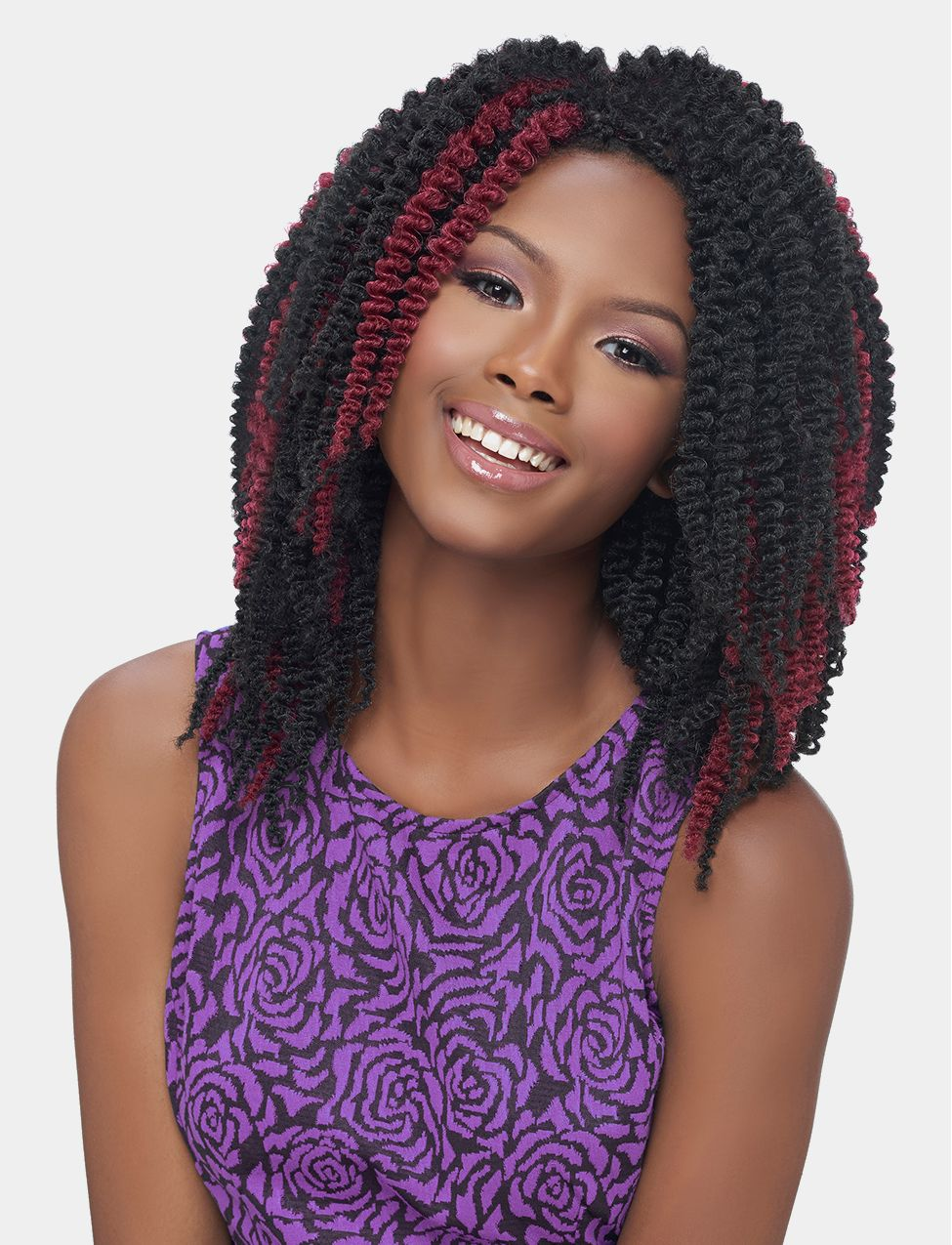 Harlem 125 Synthetic Braid Ghana Twist 10in Crochet Hair Weave