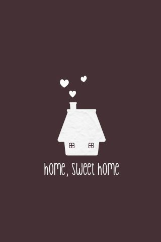 Home Is Where Your Heart Is Sweet Home Inspiration Wallpaper