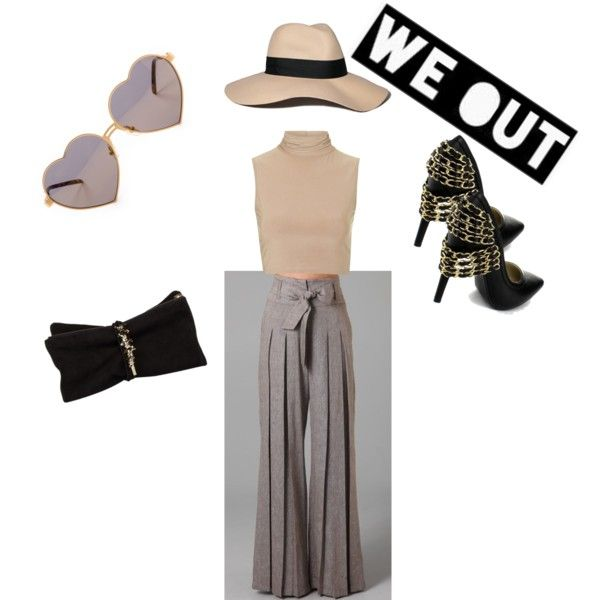 WE OUT!!! by blanchelerouge on Polyvore featuring polyvore fashion style Rare London Dsquared2 Wildfox Abercrombie & Fitch