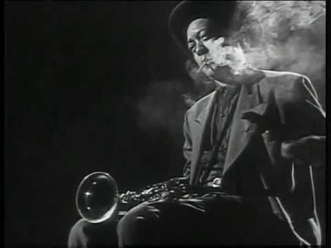 'Jammin' the Blues,' by Gjon Mili  watch out - don't burn those fingers!