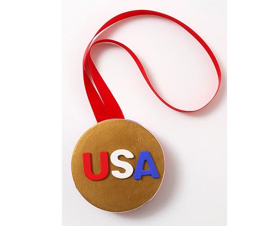 Kids Olympic Medal Project