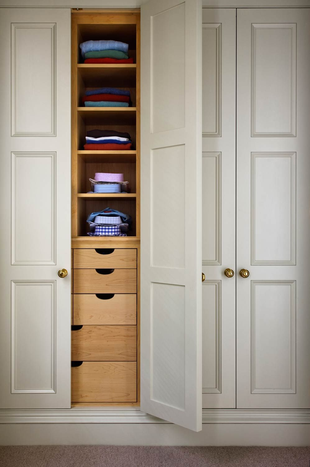 G P Schafer Architect Pllc Dressing Room Cabinets