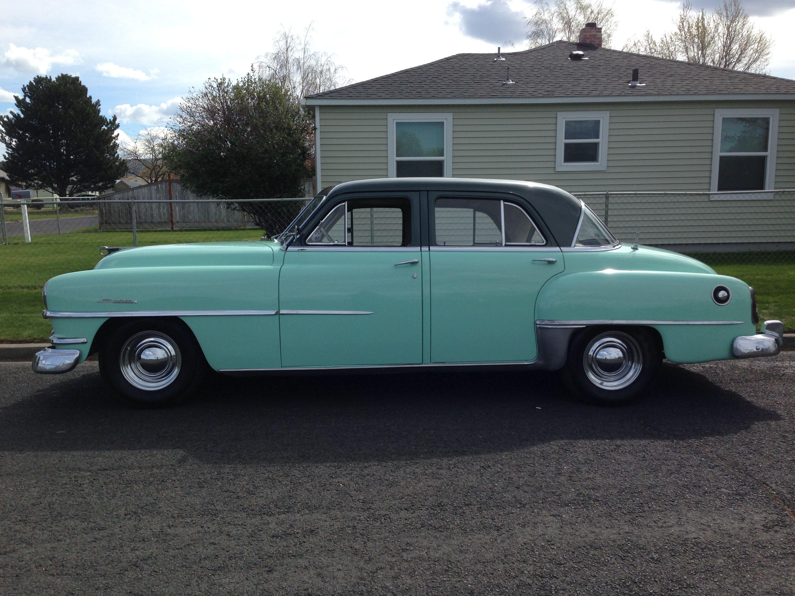 1952 Chrysler Windsor 4 Door Sedan Chrysler Windsor Hot Rods