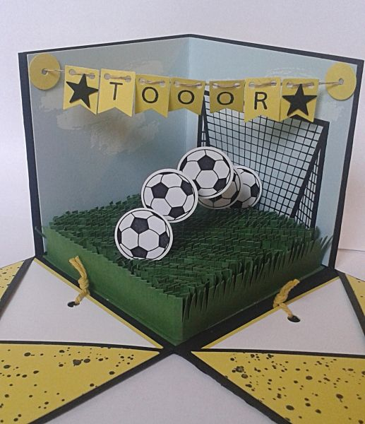 Explosionsbox Soccer Ball Fussball Geschenke Gutschein