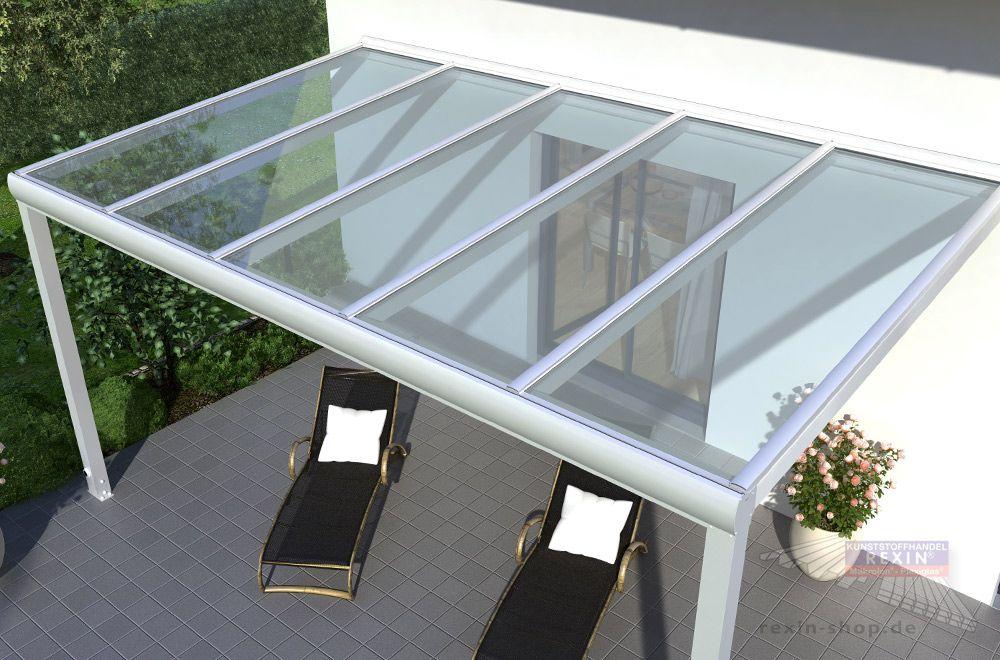 terrassendach glas aluminium, alu-terrassendach inkl. vsg-glas [angebot des monats   pergolas, Design ideen